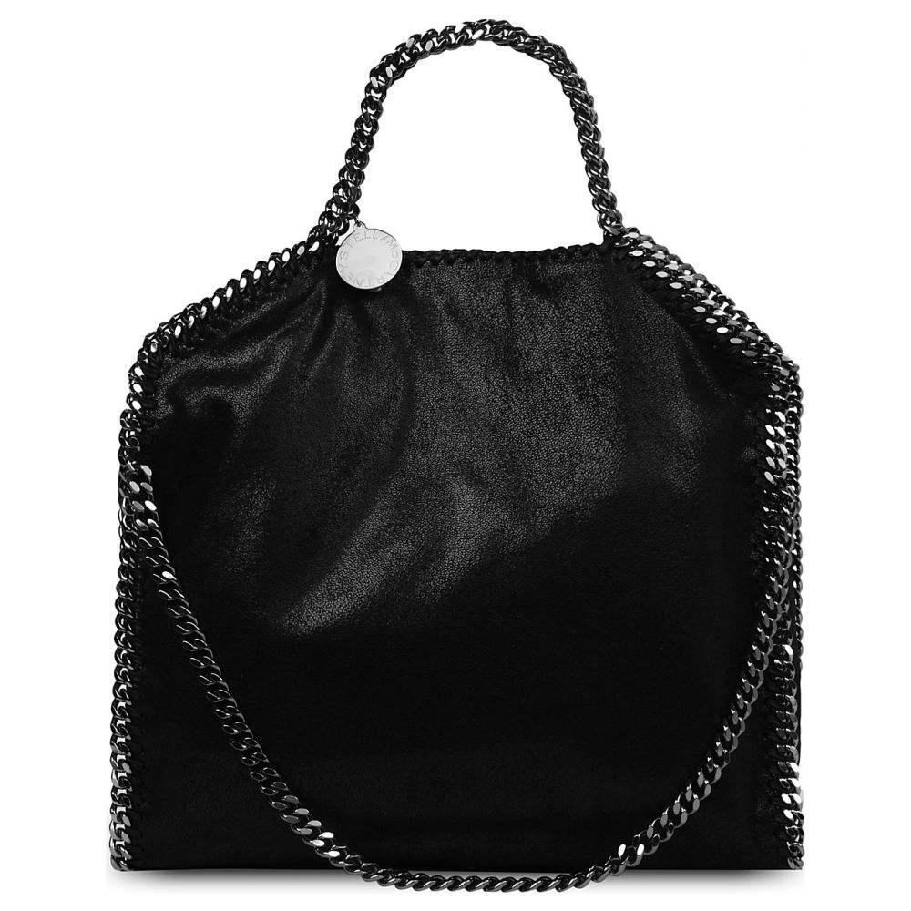 ステラ マッカートニー STELLA MCCARTNEY レディース ショルダーバッグ バッグ【Falabella medium faux-suede shoulder bag】Black