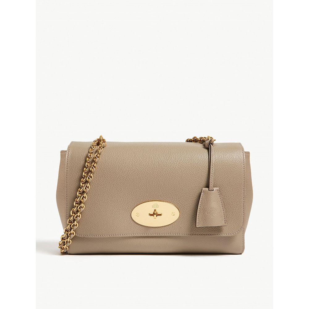 マルベリー MULBERRY レディース ショルダーバッグ バッグ【Lily leather shoulder bag】SOLID GREY