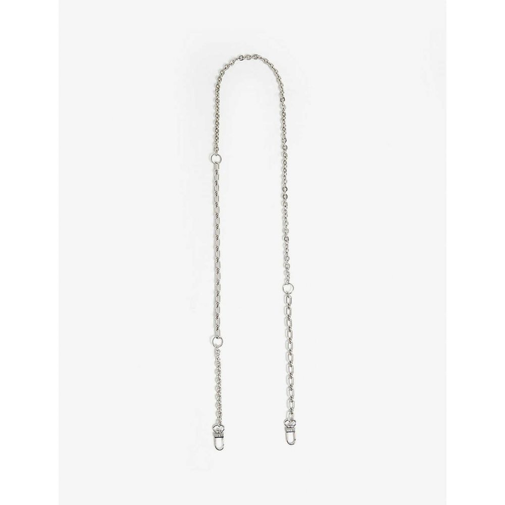 マージュ MAJE レディース バッグストラップ バッグ【Chain shoulder strap】Silver