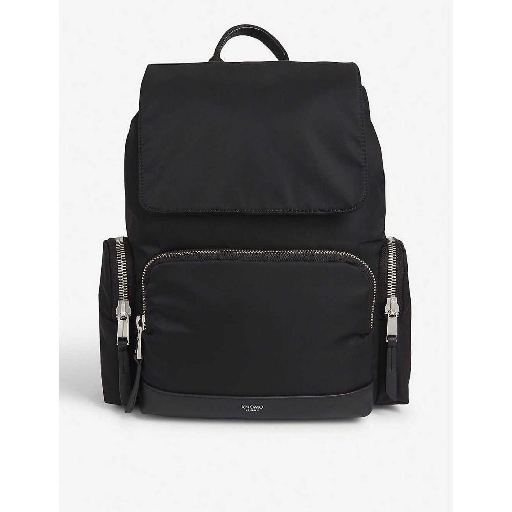 クノモ KNOMO レディース バックパック・リュック バッグ【Clifford nylon backpack】Black