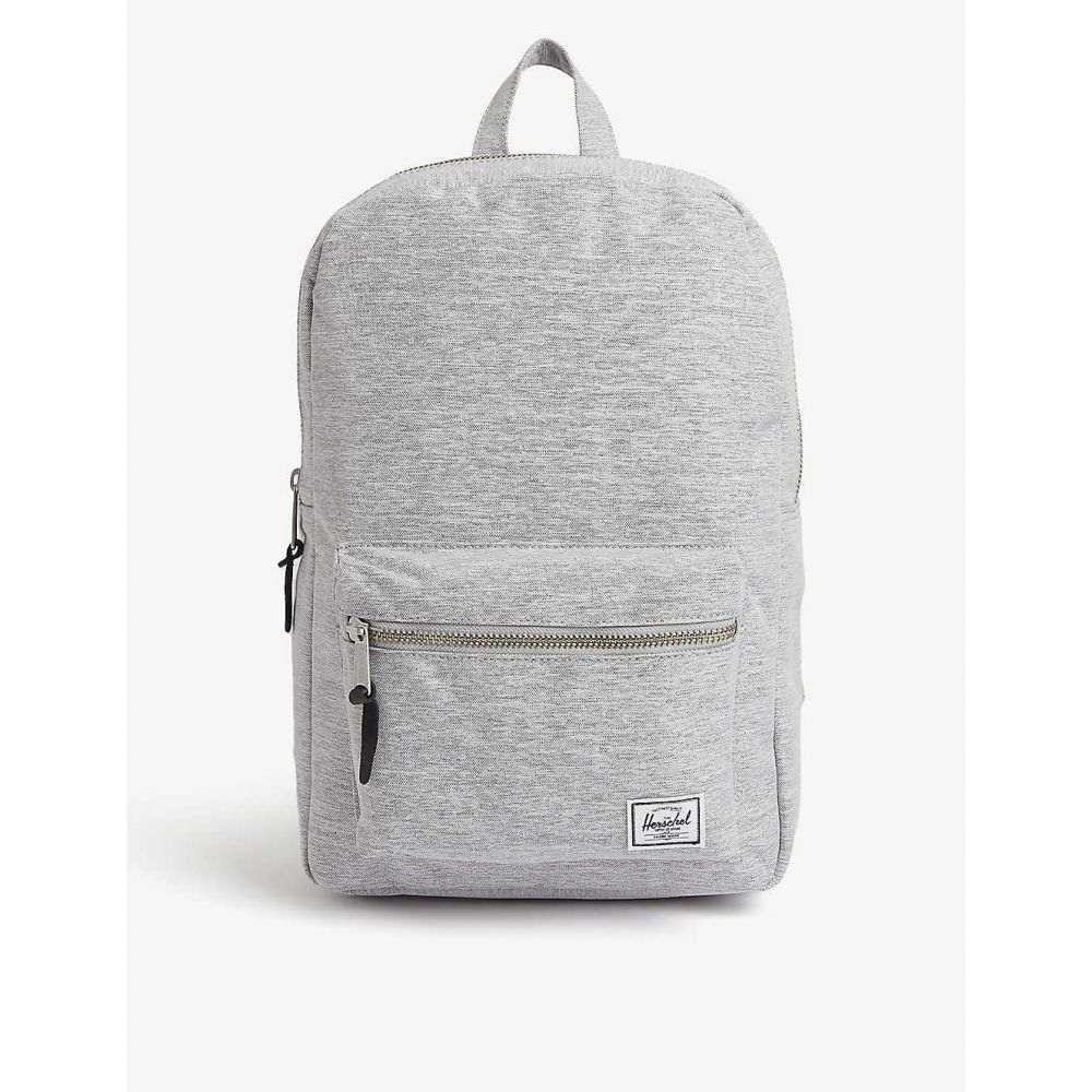 ハーシェル サプライ HERSCHEL SUPPLY CO レディース バックパック・リュック バッグ【Settlement backpack】Light Grey Crosshatch