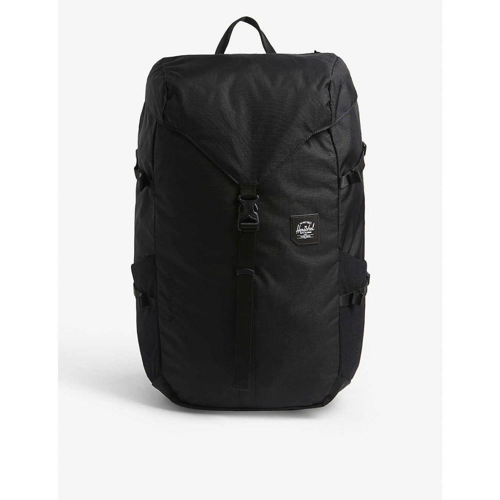 ハーシェル サプライ HERSCHEL SUPPLY CO レディース バックパック・リュック バッグ【Thompson canvas backpack】BLACK