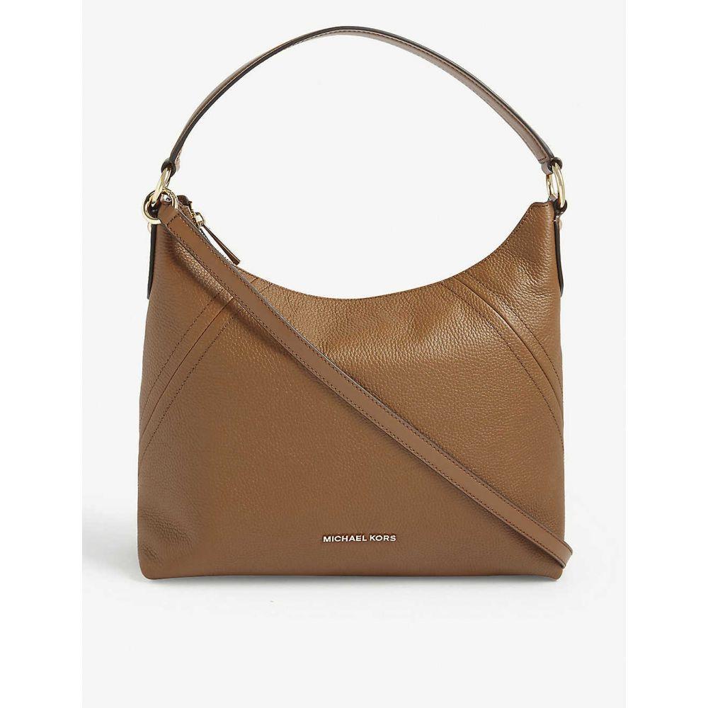 マイケル コース MICHAEL KORS レディース ショルダーバッグ バッグ【Aria leather shoulder bag】Luggage