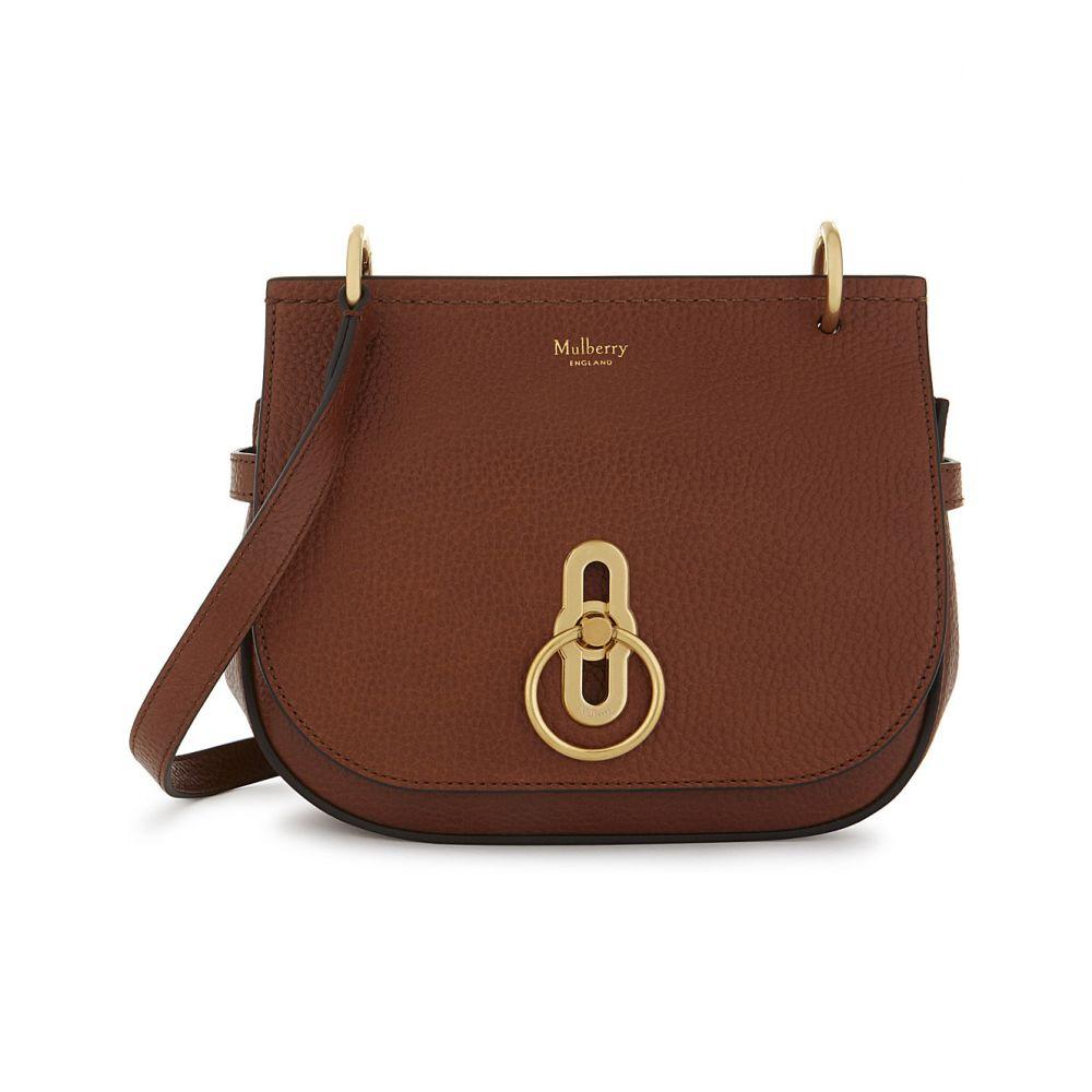 マルベリー MULBERRY レディース ハンドバッグ サッチェルバッグ バッグ【Small Amberley pebbled leather satchel】OAK