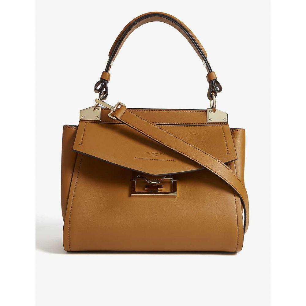 ジバンシー GIVENCHY レディース ハンドバッグ バッグ【Mystic small leather top handle bag】Desert
