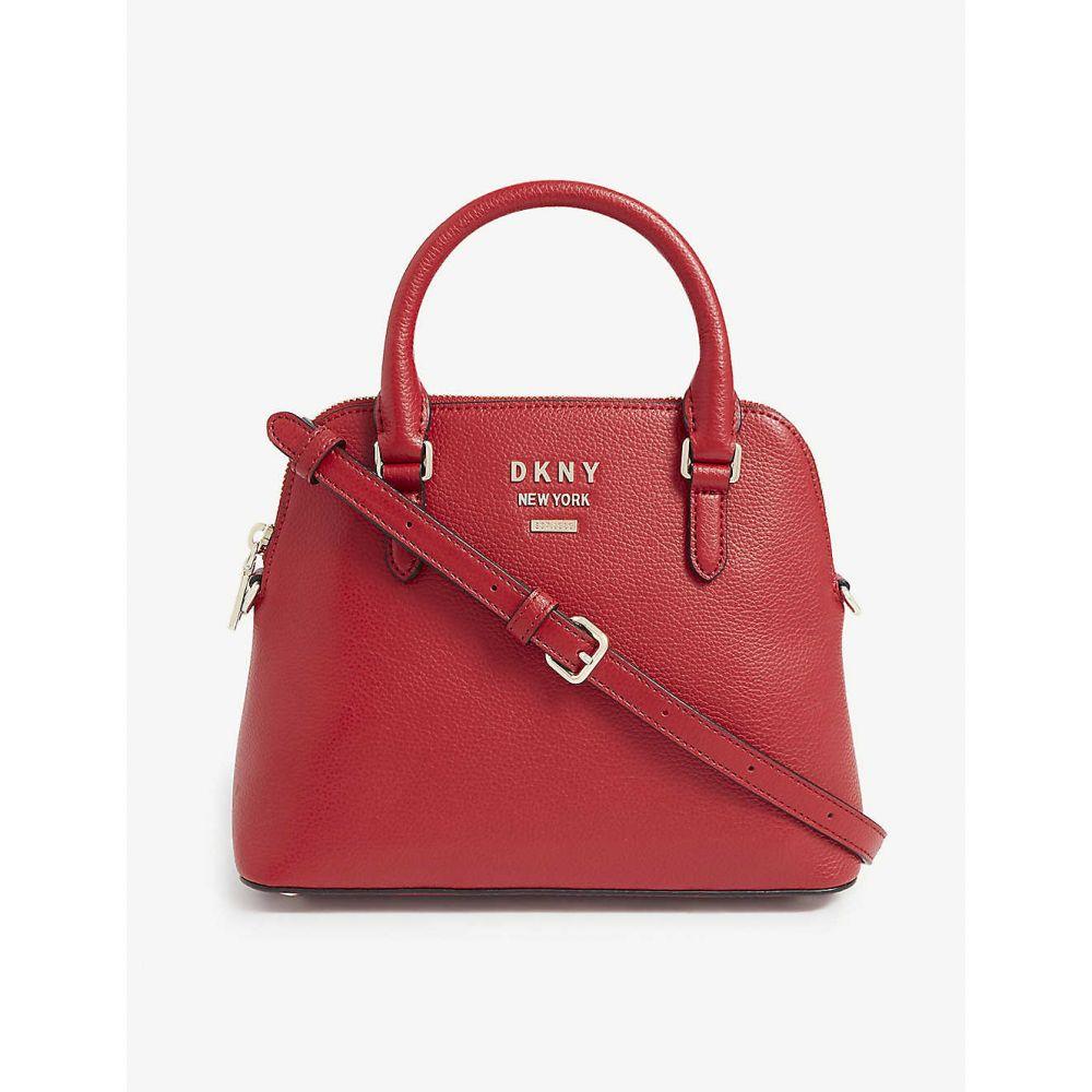 ダナ キャラン ニューヨーク DKNY レディース ハンドバッグ サッチェルバッグ バッグ【Whitney dome satchel】BRIGHT RED