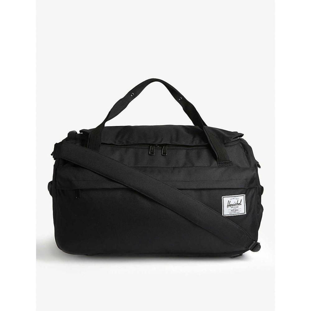ハーシェル サプライ HERSCHEL SUPPLY CO レディース ボストンバッグ・ダッフルバッグ バッグ【Outfitter canvas duffle bag】BLACK