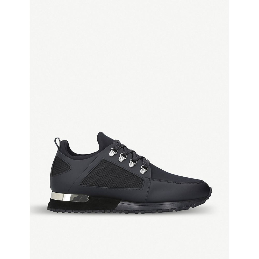 マレット MALLET メンズ ハイキング・登山 シューズ・靴【Hiker leather and neoprene trainers】BLACK