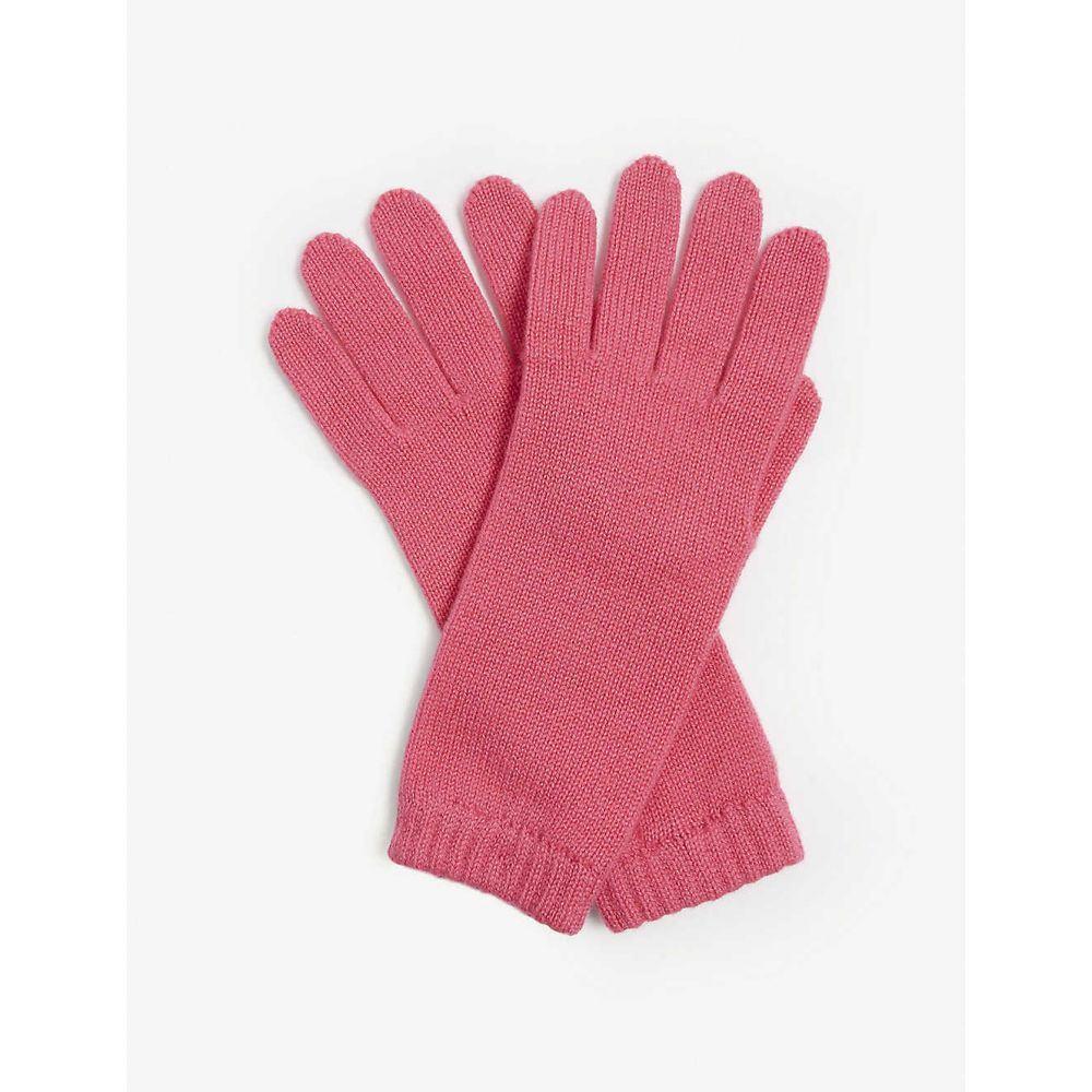 ジョンストンズ JOHNSTONS レディース 手袋・グローブ 【Cashmere gloves】HOT PINK