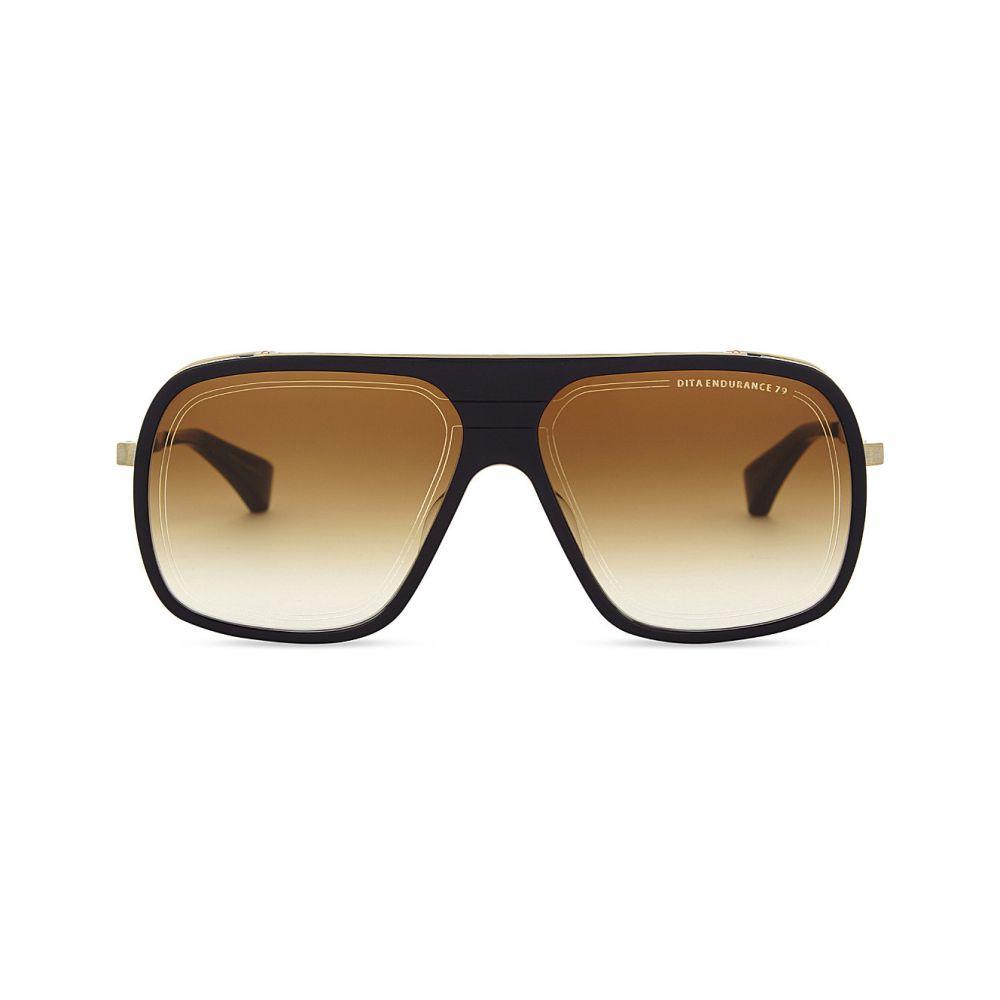 ディータ DITA レディース メガネ・サングラス スクエアフレーム【Endurance 79 square-frame sunglasses】Blue yellow