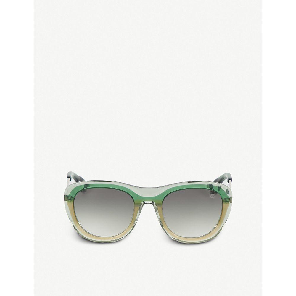 ブレイク クワハラ BLAKE KUWAHARA レディース メガネ・サングラス 【Chareau acetate sunglasses】Green