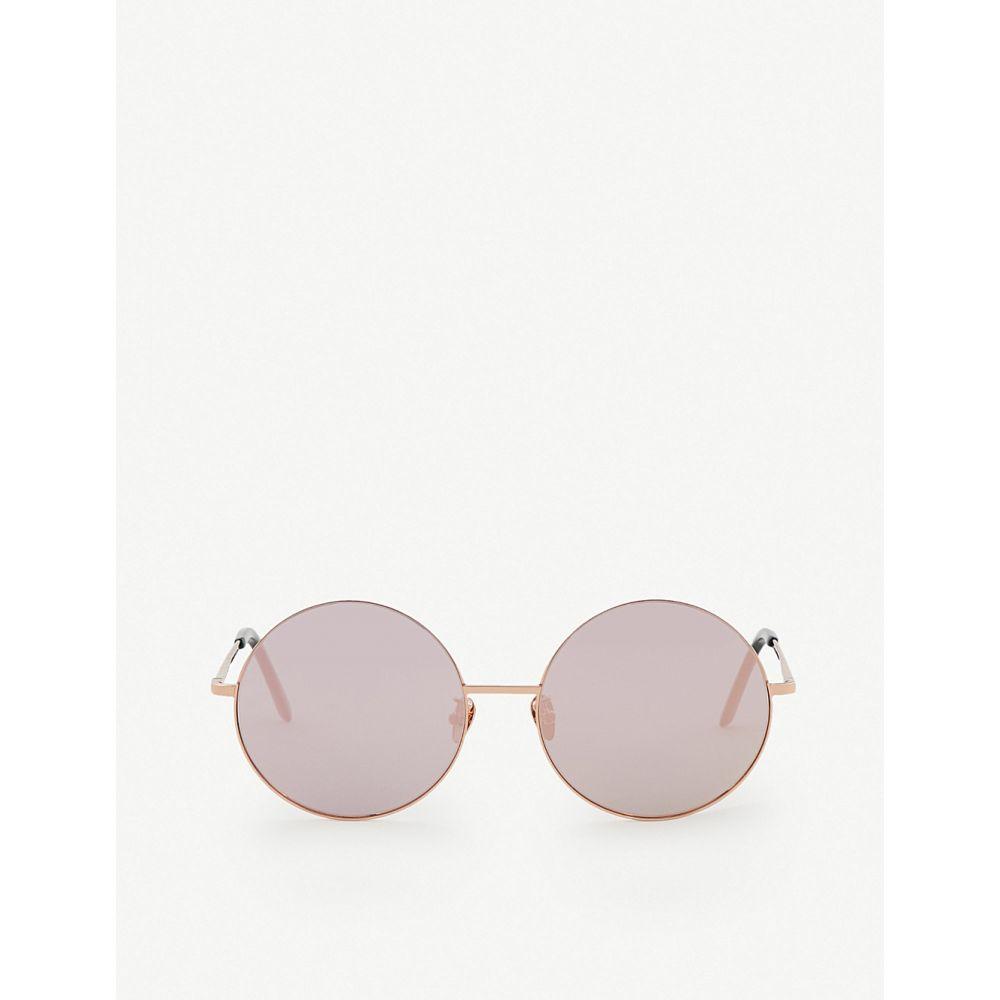 プロジェクトプロダクト PROJECT PRODUCKT レディース メガネ・サングラス 【FN-9 mirrored sunglasses】Pink gold
