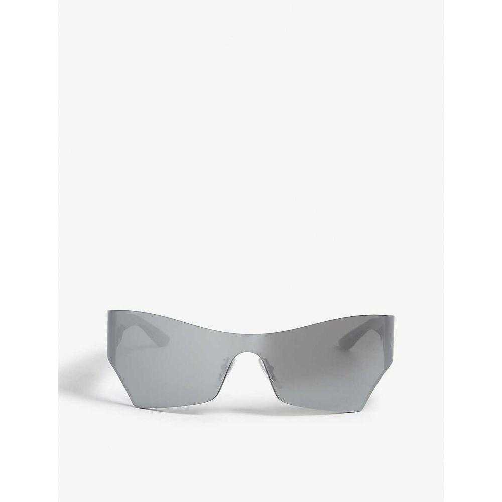 バレンシアガ BALENCIAGA レディース メガネ・サングラス キャットアイ【BB0040S cat-eye sunglasses】Silver