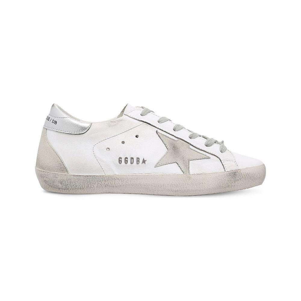 ゴールデン グース GOLDEN GOOSE レディース スニーカー シューズ・靴【Superstar W77 leather trainers】White/oth