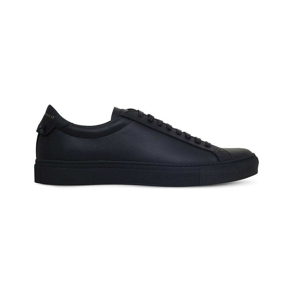 ジバンシー GIVENCHY レディース スニーカー シューズ・靴【Knot leather trainers】BLACK/COMB