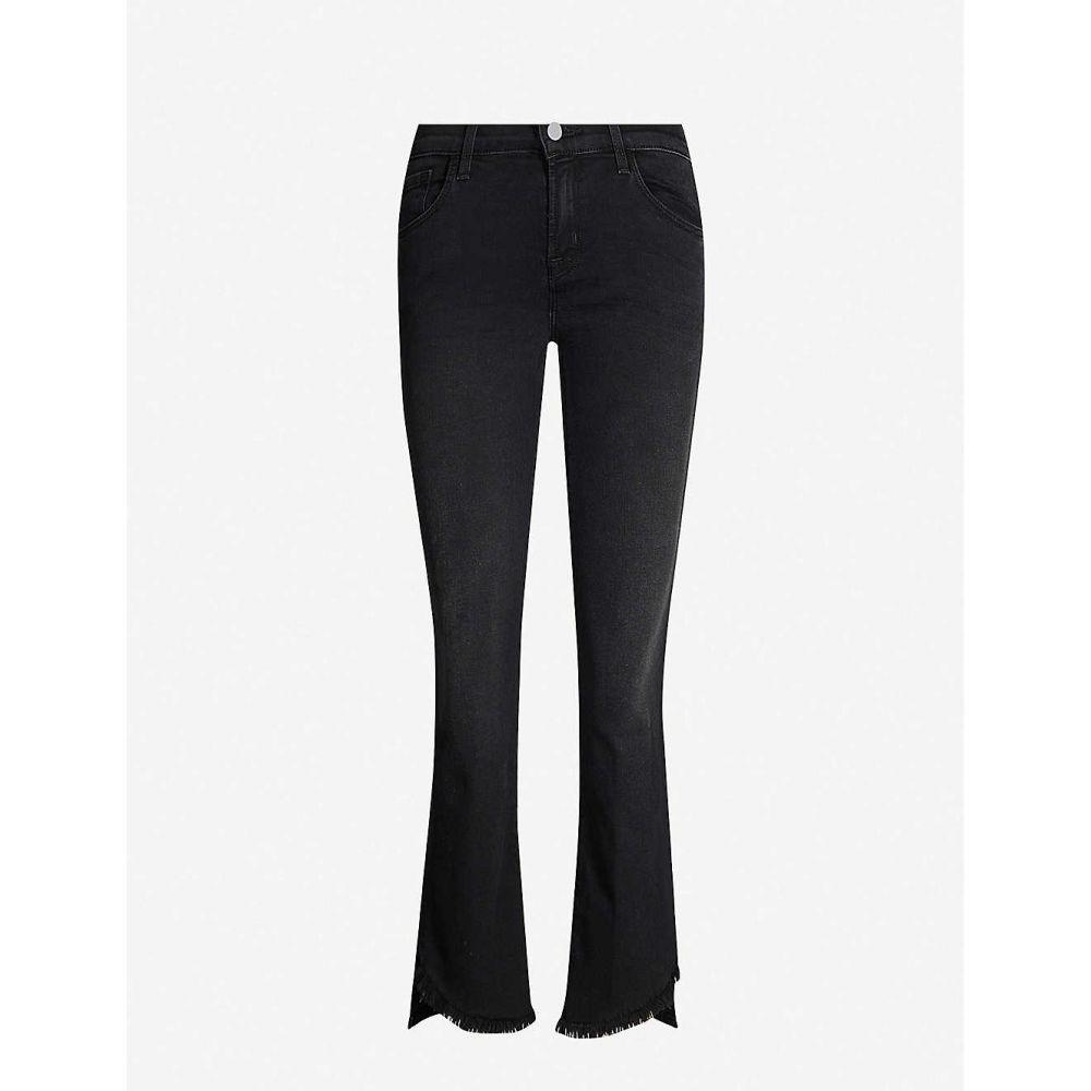 ジェイ ブランド J BRAND レディース ジーンズ・デニム ボトムス・パンツ【Selena skinny-bootcut mid-rise cropped jeans】Nevermore