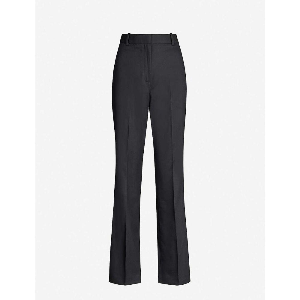リース REISS レディース ボトムス・パンツ 【Hartley wide-leg wool-blend trousers】Black