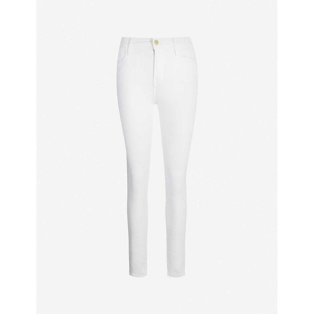 フレーム FRAME レディース ジーンズ・デニム ボトムス・パンツ【Le High high-rise skinny jeans】BLANC