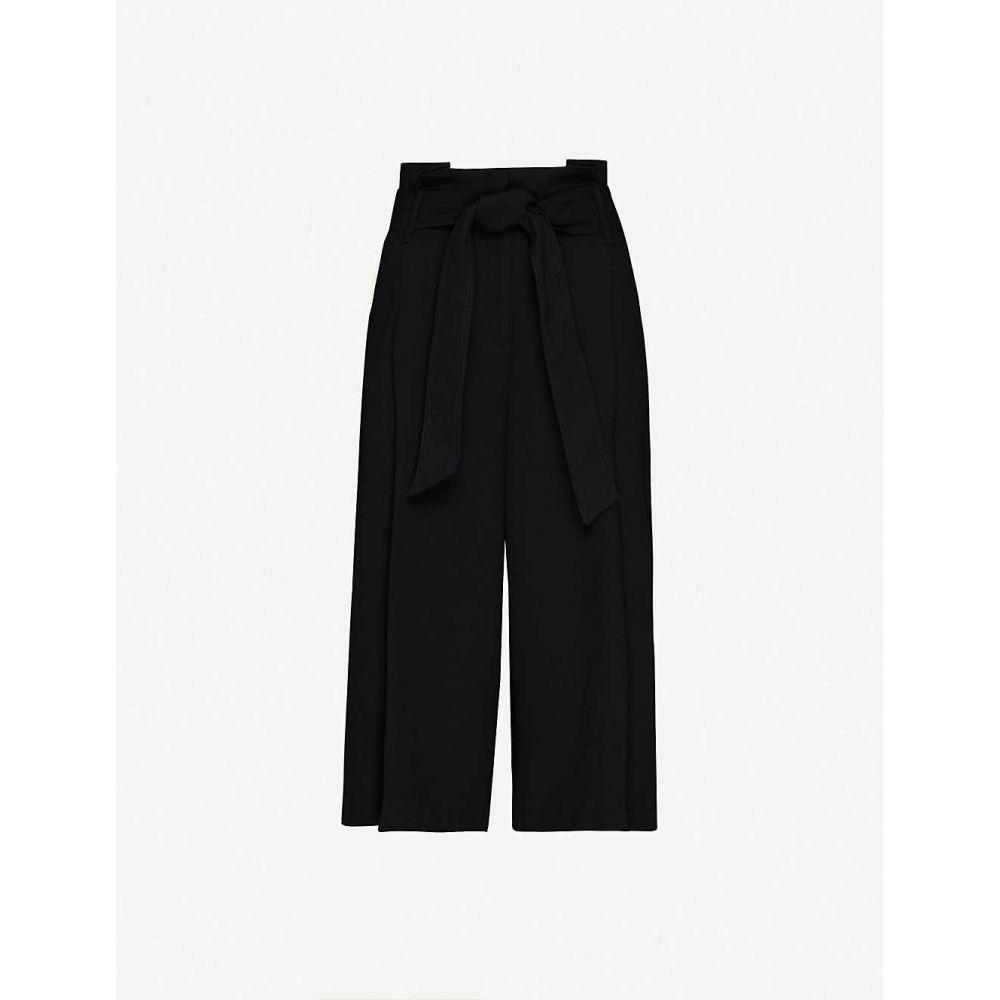 リース REISS レディース ボトムス・パンツ 【Ludlow woven twill trousers】BLACK