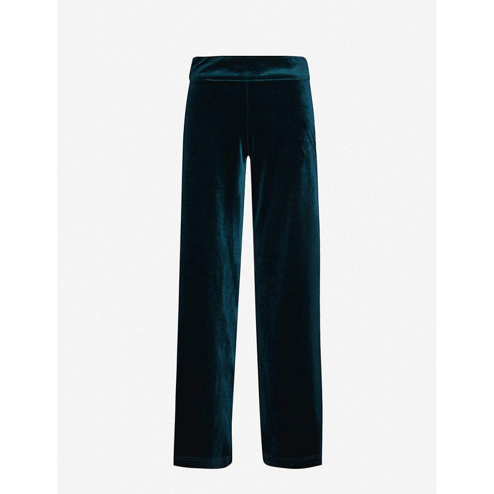 IBEN レディース ボトムス・パンツ 【Kobi flared velvet trousers】Pine Green