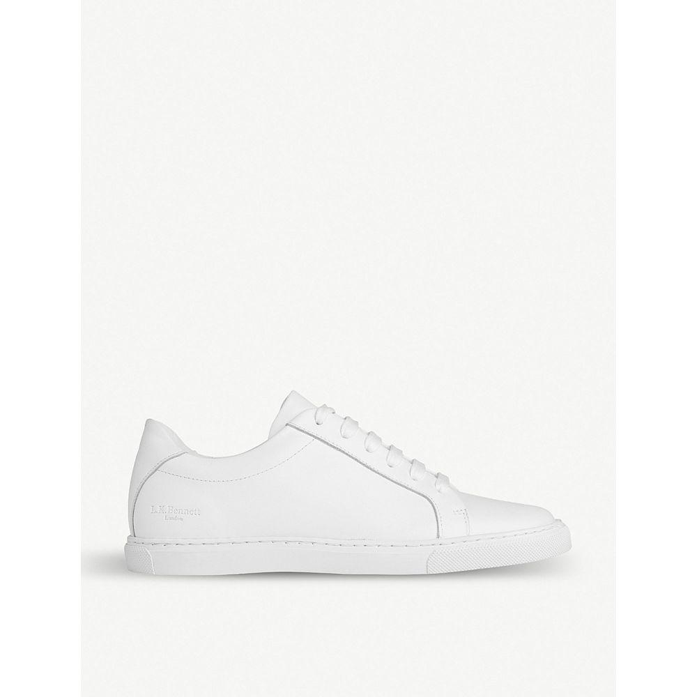 エルケーベネット LK BENNETT レディース スニーカー シューズ・靴【Jack leather trainers】Whi-white
