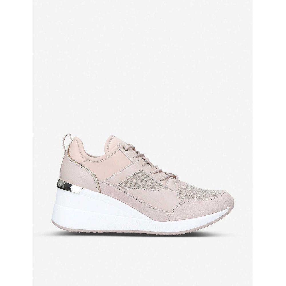 アルド ALDO レディース スニーカー シューズ・靴【Thrundra embellished platform trainers】Pink