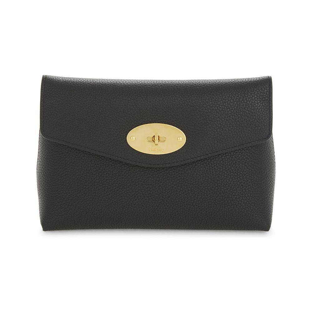 マルベリー MULBERRY レディース ポーチ 化粧ポーチ【Darley small grained leather cosmetic pouch】Black