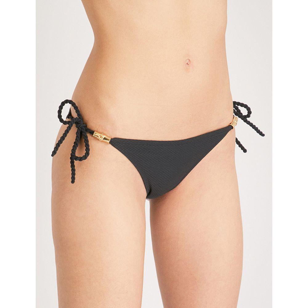 ハイジ クライン HEIDI KLEIN レディース ボトムのみ 水着・ビーチウェア【Core mid-rise bikini bottoms】Black