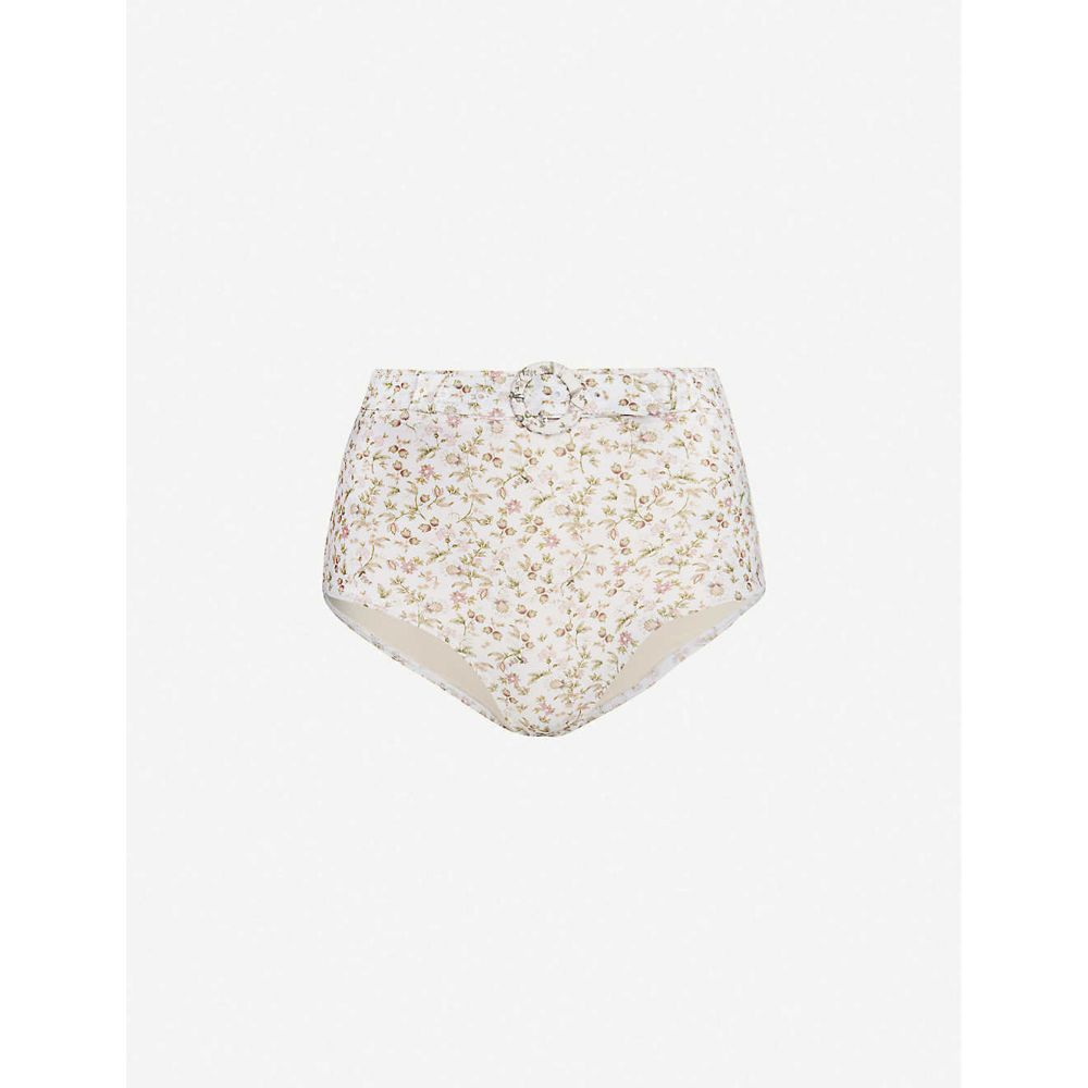 ポーニー PEONY レディース ボトムのみ 水着・ビーチウェア【La Boheme stretch-recycled polyamide bikini bottoms】La Boheme