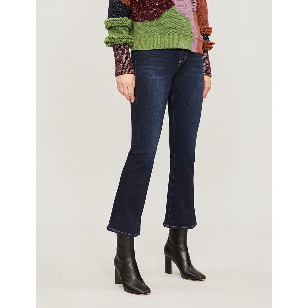 フレーム FRAME レディース ジーンズ・デニム ボトムス・パンツ【Le Crop Mini Boot mid-rise flared jeans】Cabana
