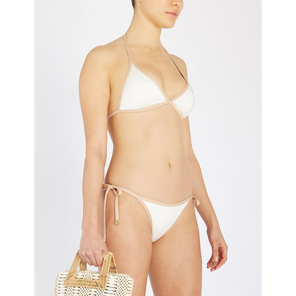 マイラ MYLA レディース トップのみ 水着・ビーチウェア【Penny Fields bikini top】Cream and gold