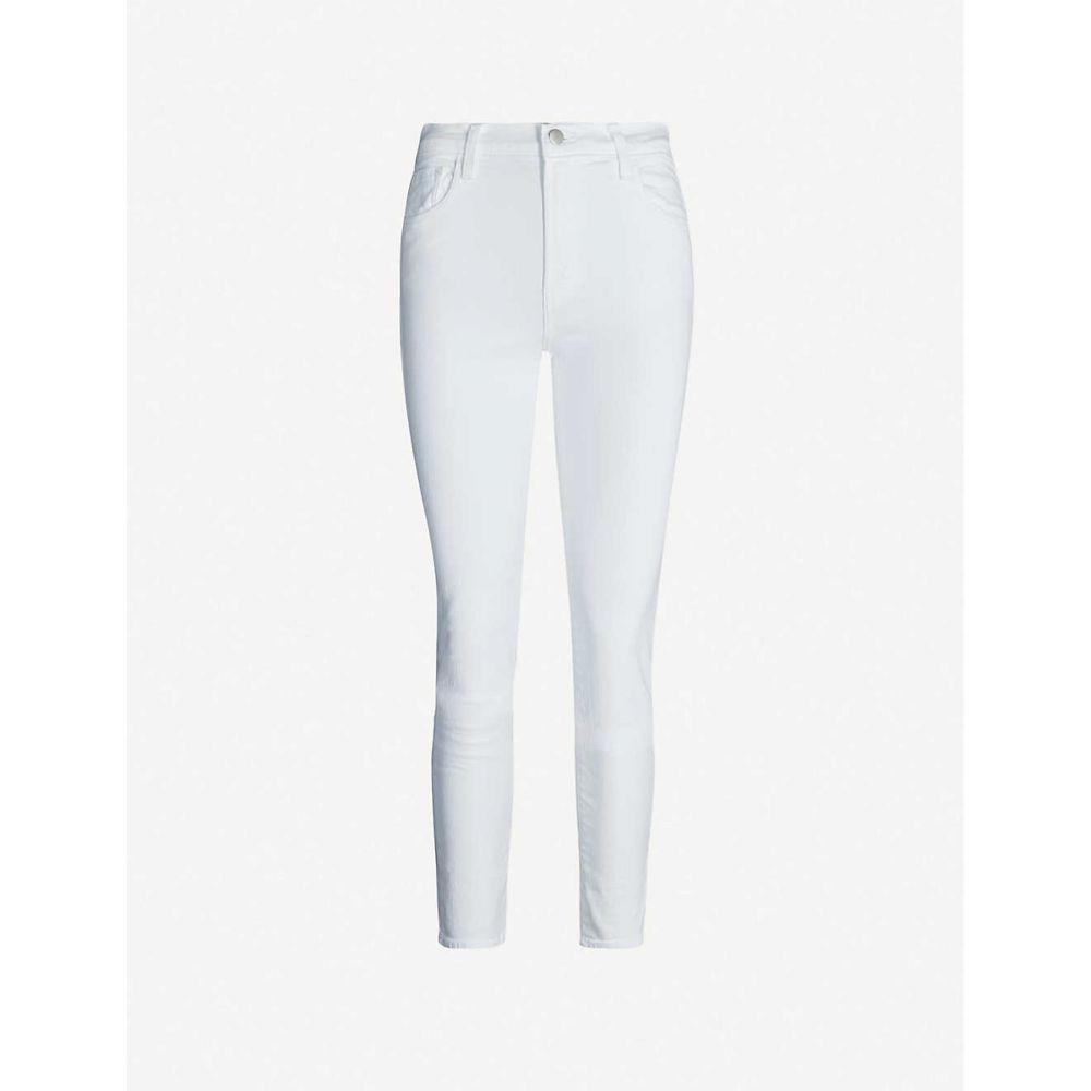 ジェイ ブランド J BRAND レディース ジーンズ・デニム ボトムス・パンツ【Ruby mid-rise cigarette jeans】Blanc