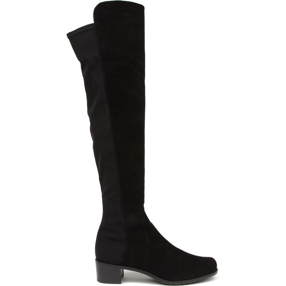 スチュアート ワイツマン STUART WEITZMAN レディース ブーツ シューズ・靴【Reserve suede over-the-knee boots】BLACK