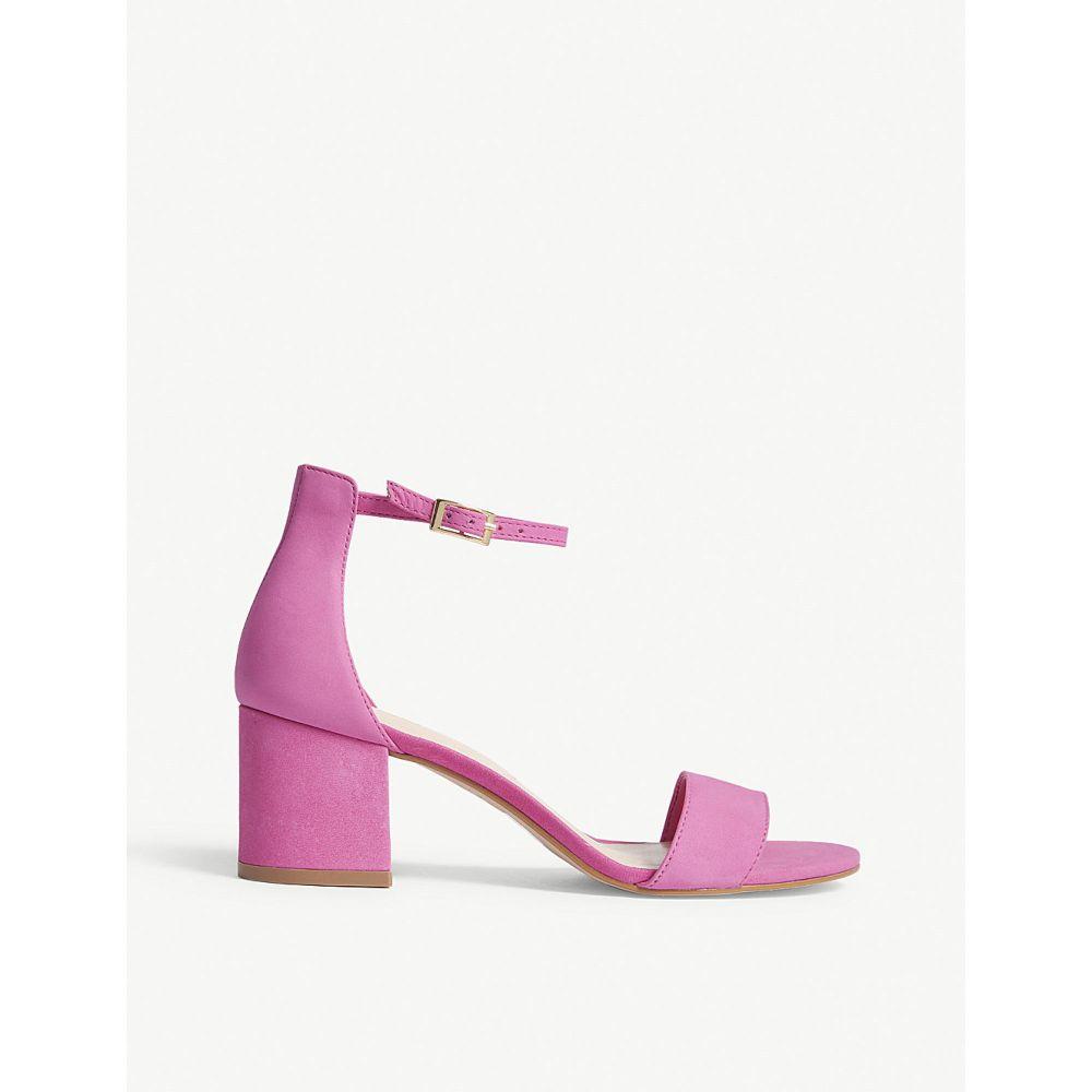 アルド ALDO レディース サンダル・ミュール シューズ・靴【Villarosa suede heeled sandals】Fushia miscellaneous