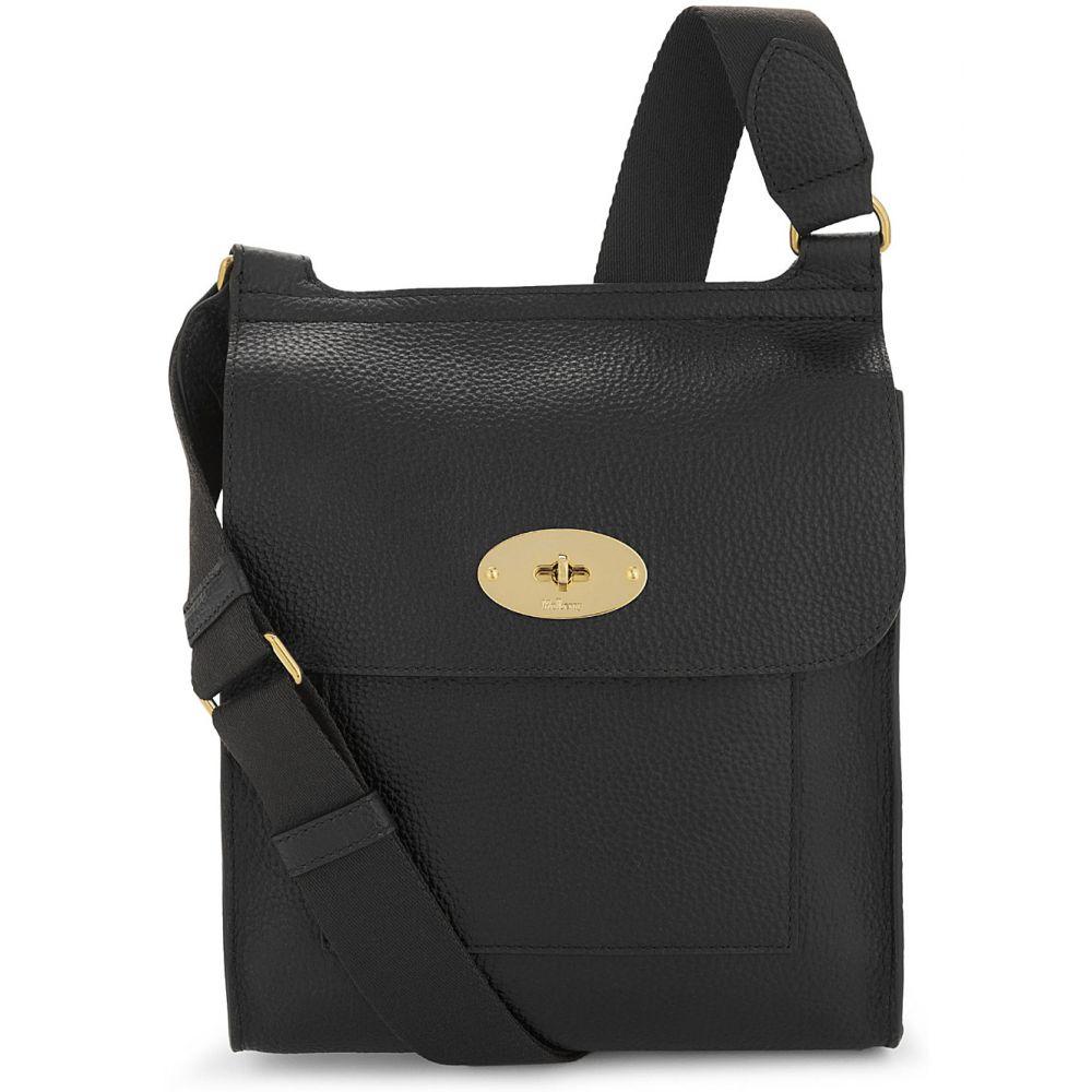 マルベリー MULBERRY レディース ショルダーバッグ バッグ【Antony grained leather cross-body bag】Black