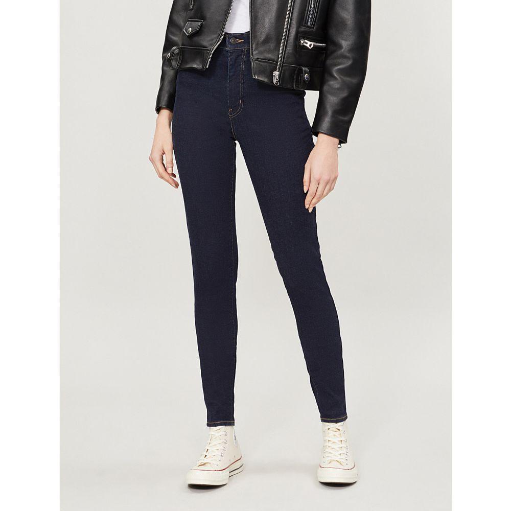 リーバイス LEVI'S レディース ジーンズ・デニム ボトムス・パンツ【Mile High super-skinny high-rise jeans】CELESTIAL RINSE