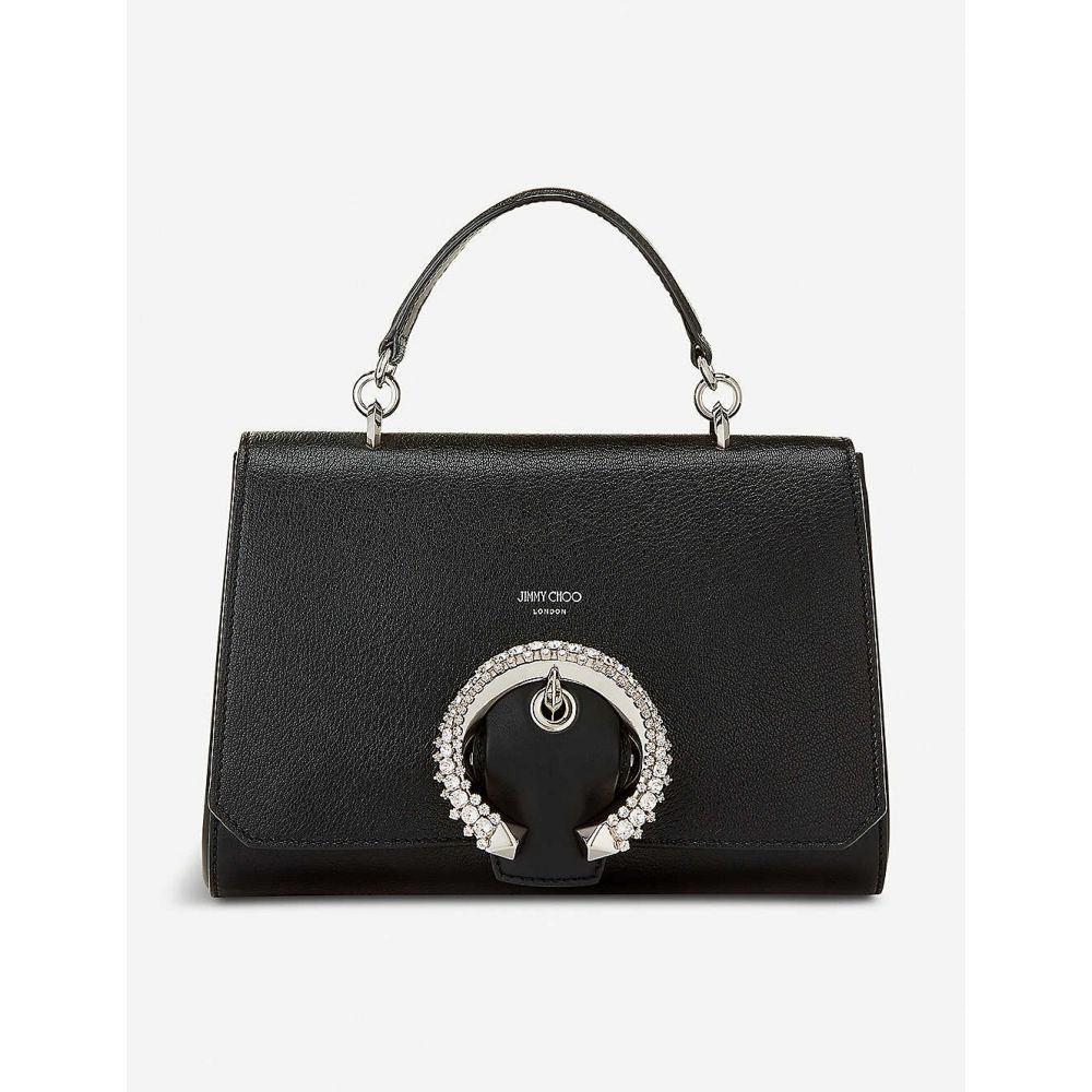 ジミー チュウ JIMMY CHOO レディース ハンドバッグ バッグ【Madeline leather top-handle bag】Black