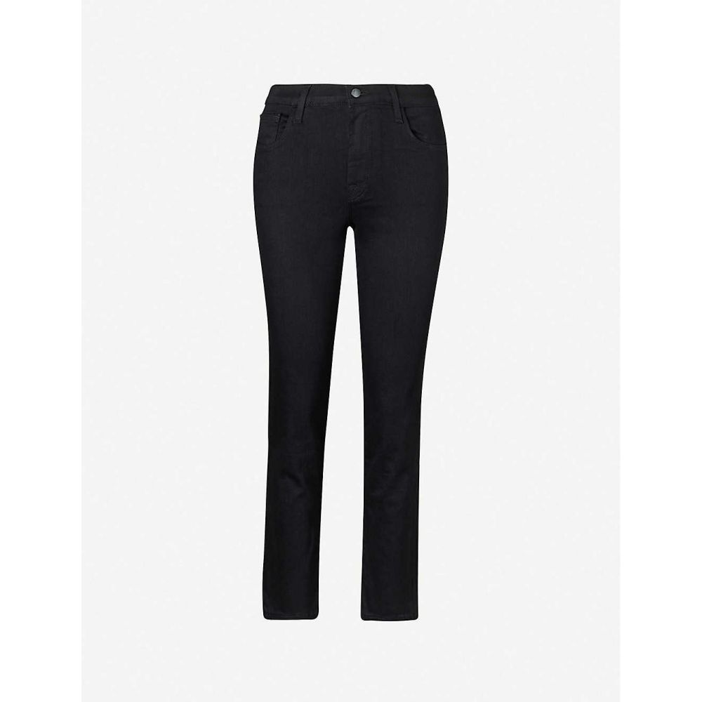 ジェイ ブランド J BRAND レディース ジーンズ・デニム ボトムス・パンツ【Adele straight high-rise stretch-denim jeans】Vesper Noir