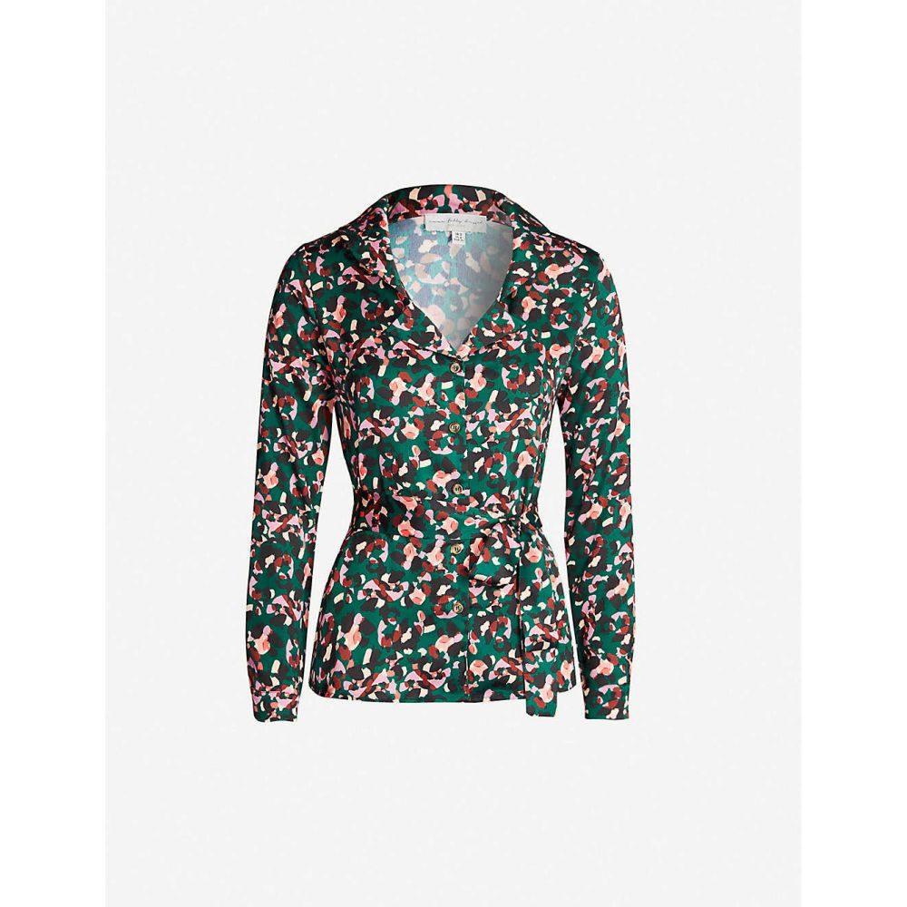 ネバーフリードレス NEVER FULLY DRESSED レディース ブラウス・シャツ トップス【Chester polyester shirt】Green