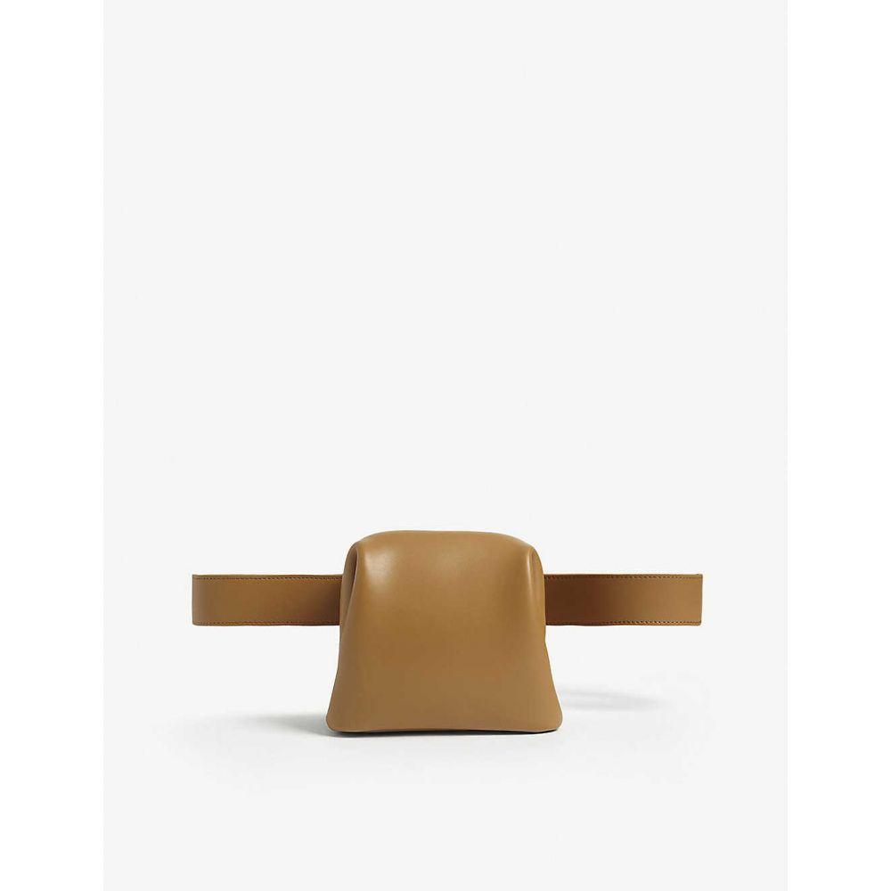 オソイ OSOI レディース ボディバッグ・ウエストポーチ バッグ【Brot leather belt bag】CAMEL