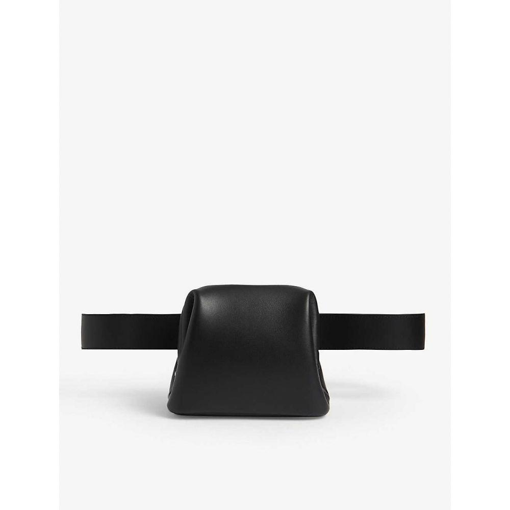 オソイ OSOI レディース ボディバッグ・ウエストポーチ バッグ【Brot leather belt bag】BLACK