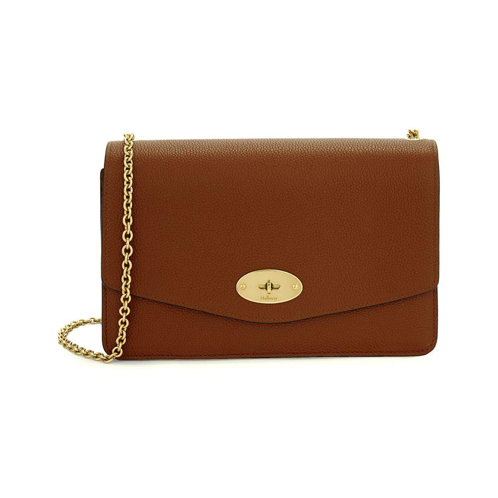 マルベリー MULBERRY レディース ショルダーバッグ バッグ【Darley small leather shoulder bag】OAK