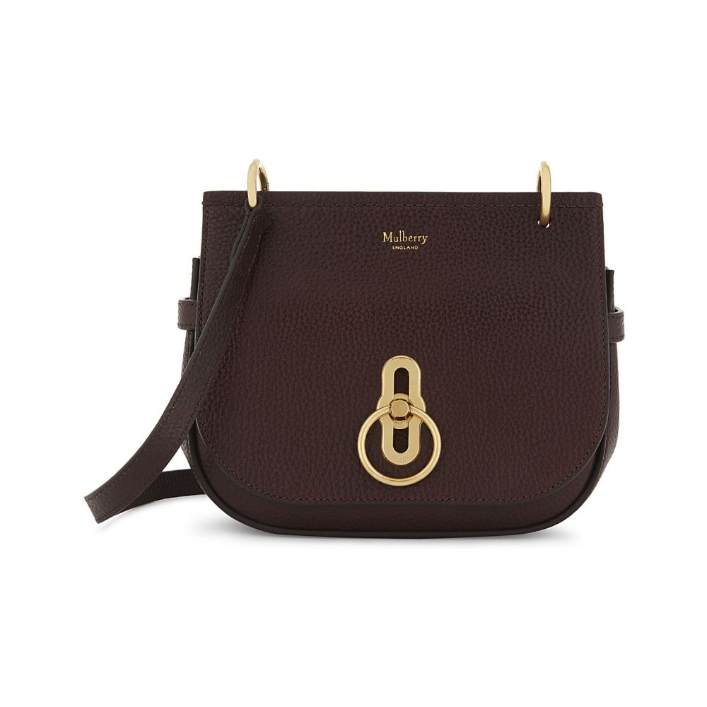 マルベリー MULBERRY レディース ショルダーバッグ バッグ【Amberley small grained leather cross-body bag】OXBLOOD