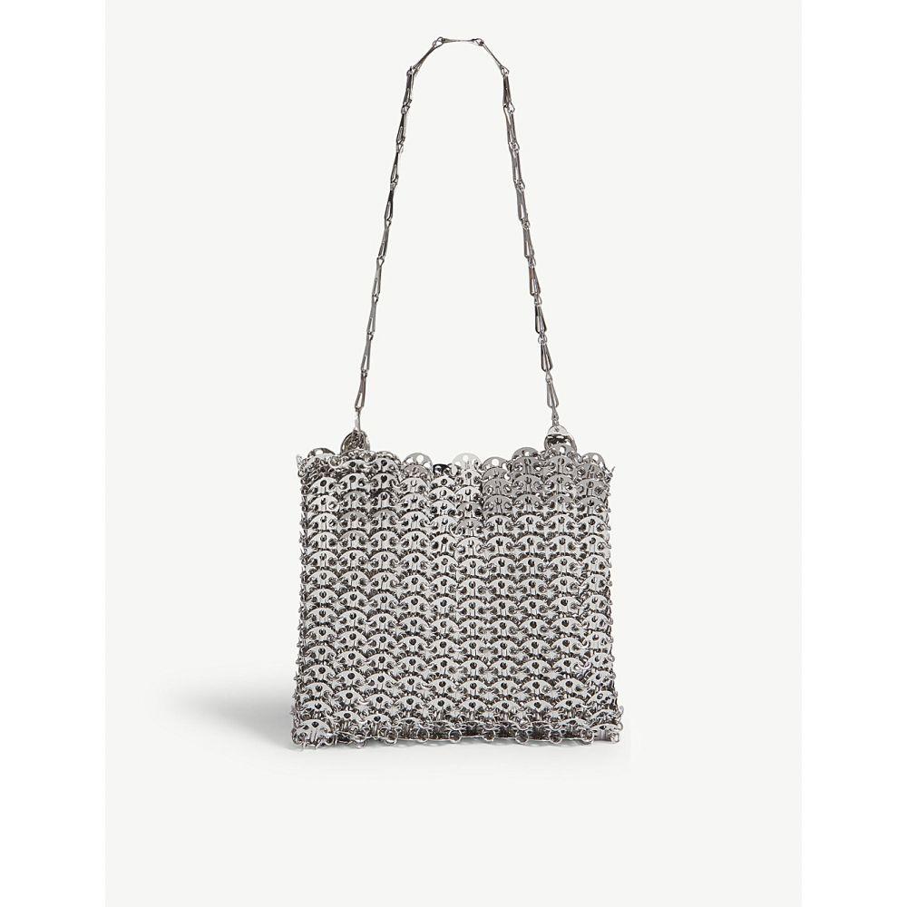 パコラバンヌ PACO RABANNE レディース ショルダーバッグ バッグ【Iconic chain shoulder bag】SILVER