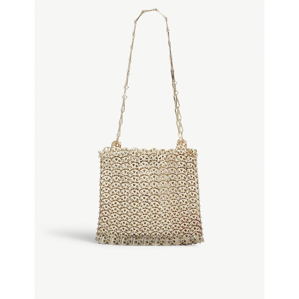 パコラバンヌ PACO RABANNE レディース ショルダーバッグ バッグ【Iconic chain shoulder bag】Gold
