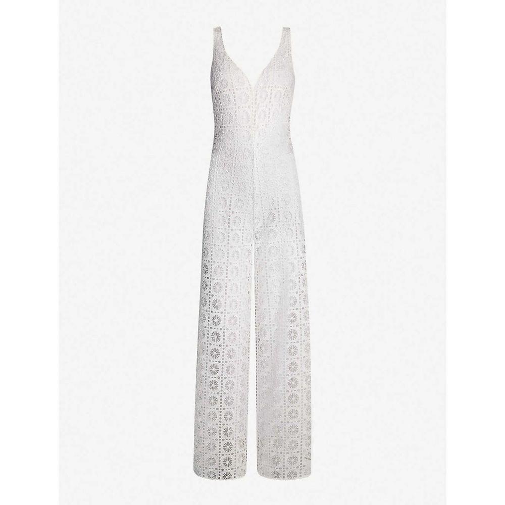 マイラ MYLA レディース オールインワン ジャンプスーツ ワンピース・ドレス【Vine Street lace jumpsuit】Cream