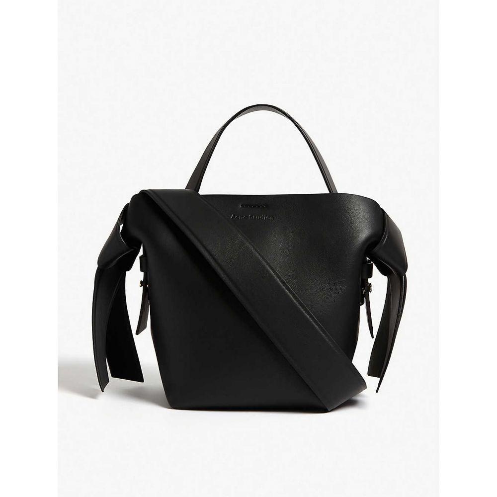アクネ ストゥディオズ ACNE STUDIOS レディース ハンドバッグ バッグ【Musubi micro leather bag】BLACK