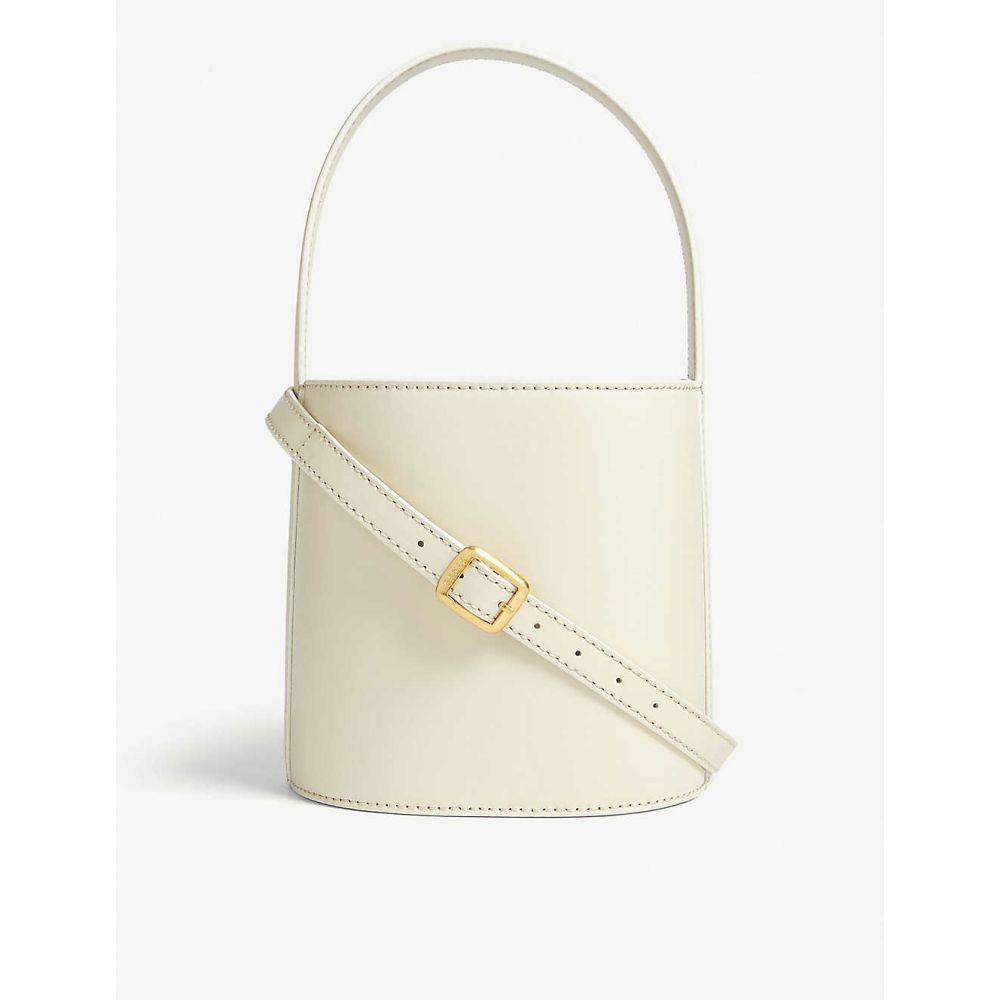 スタウド 登場大人気アイテム STAUD レディース ハンドバッグ バケットバッグ バッグ Bissett 新商品 bag bucket leather Cream