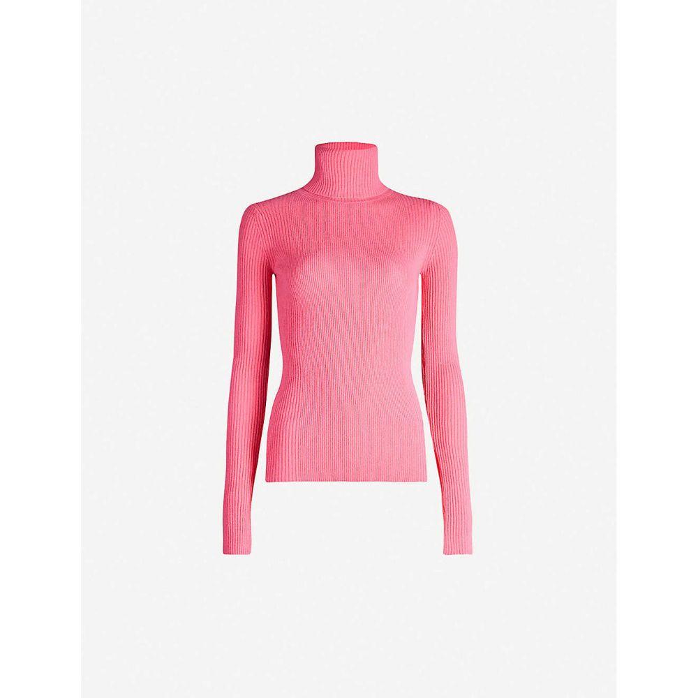 ショーディッチ スキー クラブ SHOREDITCH SKI CLUB レディース ニット・セーター トップス【Sofia turtleneck cashmere jumper】Pink