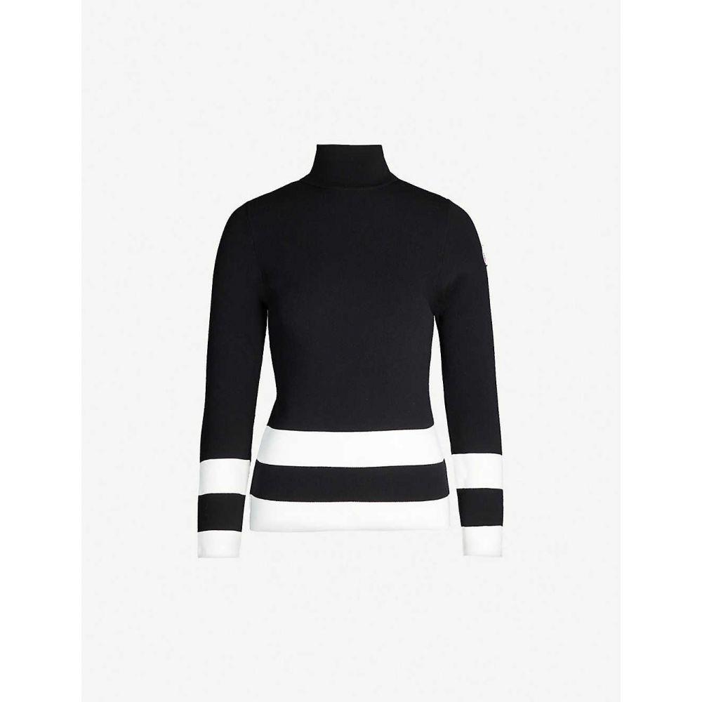 フザルプ FUSALP レディース ニット・セーター トップス【Ubac turtleneck knitted jumper】Noir
